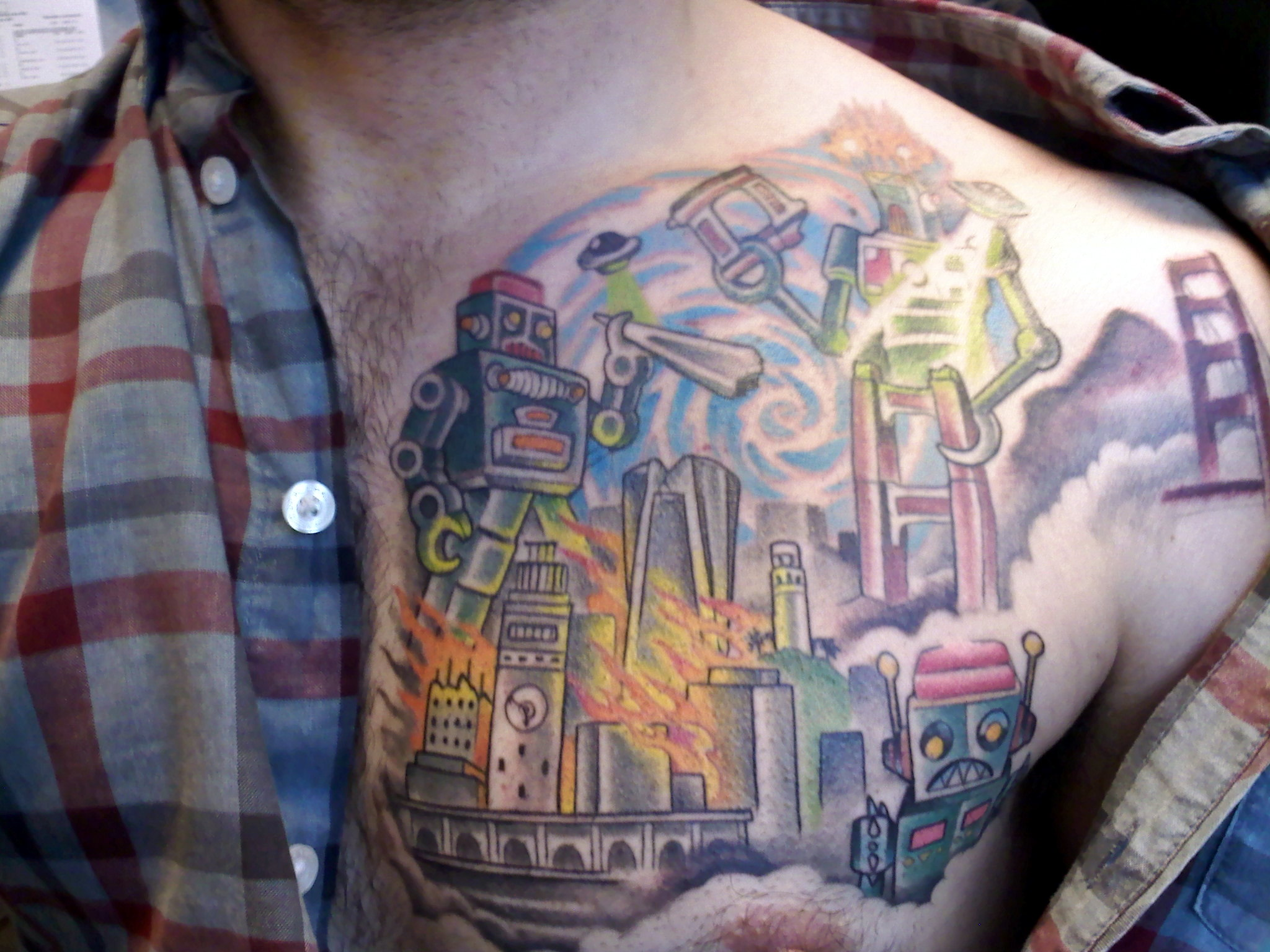 20 Original Tattoos For City Dwellers New York New York Guff