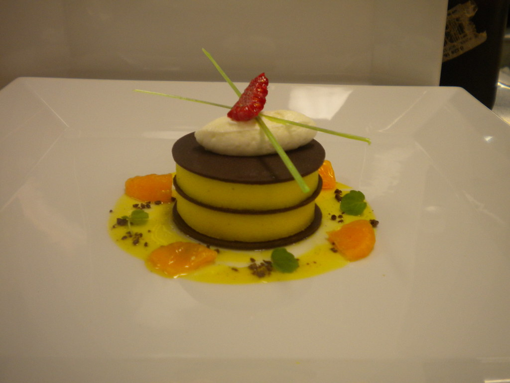 Passion Fruit Chocolate Napolian