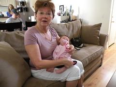 Grandma Novak Meets Hayden
