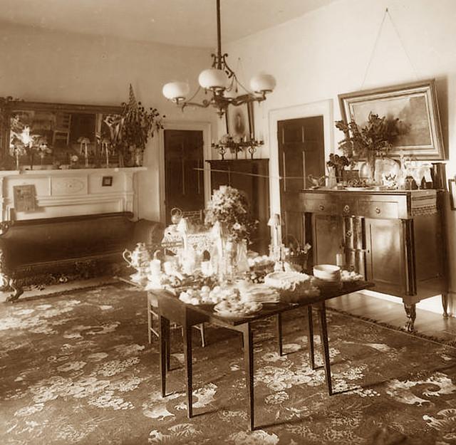 Dining Room Prentiss House 1890s
