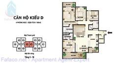 Can ho kieu D tang 3-18 River garden