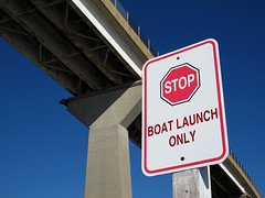 Governor Thomas Johnson Bridge Sign