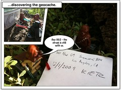 Episode 802 of our geocaching streak, Part 3