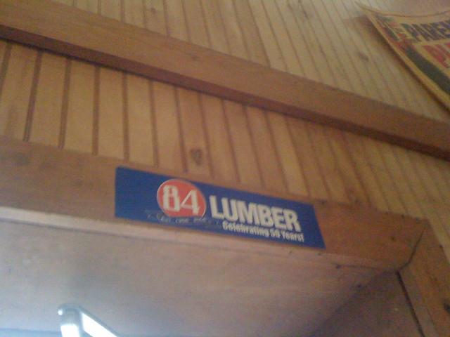 84 Lumber Sticker Flickr Photo Sharing