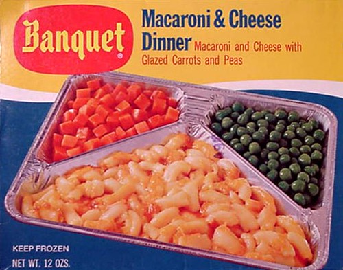 Vintage Ad for Banquet TV Dinners