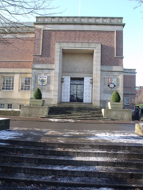 Barber Center : The Barber Institute of Fine Arts - The entrance and steps Flickr ...