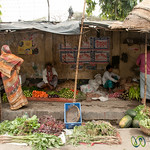 Simple Street Market in Old Dhaka - Bangladesh