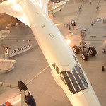 Steven F. Udvar-Hazy Center: Air France Concorde (long profile from above)