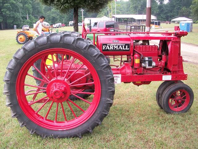 Farmall F12 Decals : Farmall f