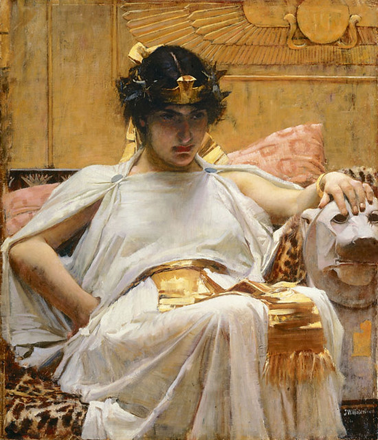 Cleopatra- John William Waterhouse