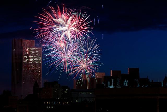 4th of July Fireworks - Albany, NY - 09, Jul - 01