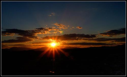 sunset sun sol atardecer star evening spain malaga foton e500 costadelsol59