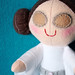 Princess Leia plush