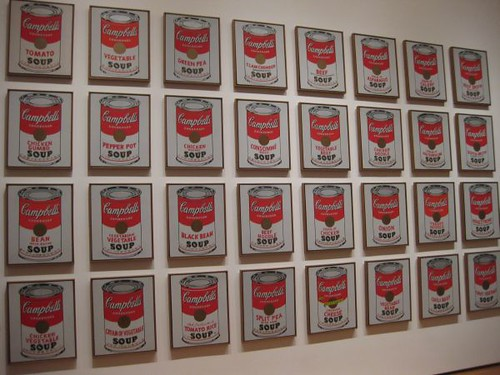 andy warhol 39 s 100 campbell 39 s soup cans at moma flickr