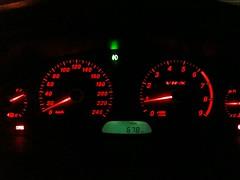 My car's dash