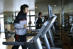 sport venue(0.0), exercise machine(1.0), room(1.0), physical fitness(1.0), gym(1.0),