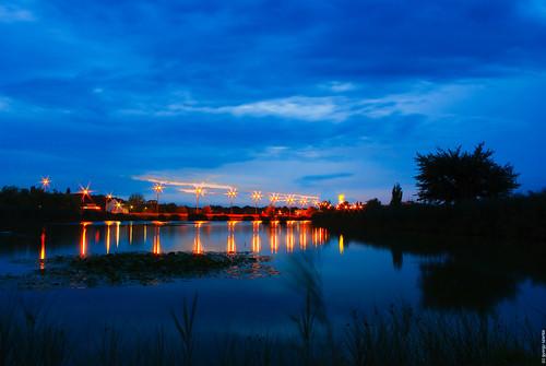 longexposure night lights hungary pentax magyarország bujtos k200d nyíregyhza