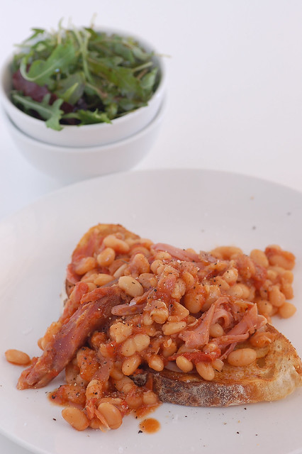 simple 2 step home baked beans 2