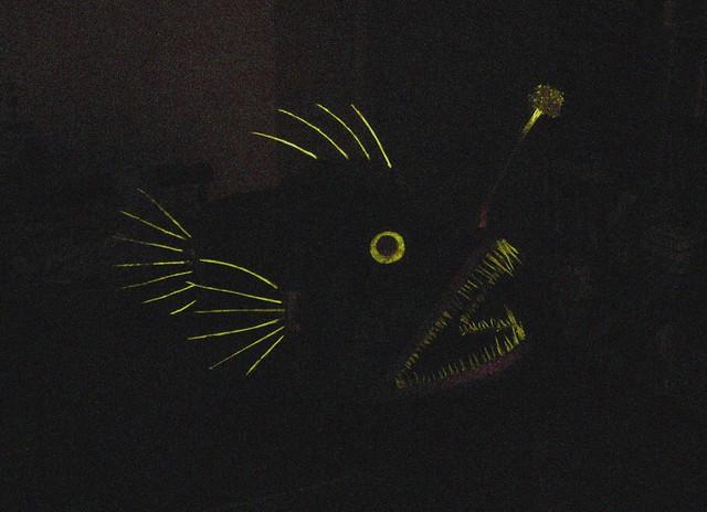 Angler fish mask lights off flickr photo sharing for Angler fish light