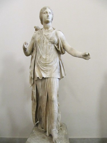 Marble statue in the Pergamon