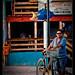 Cool bikerdude, San Pedro