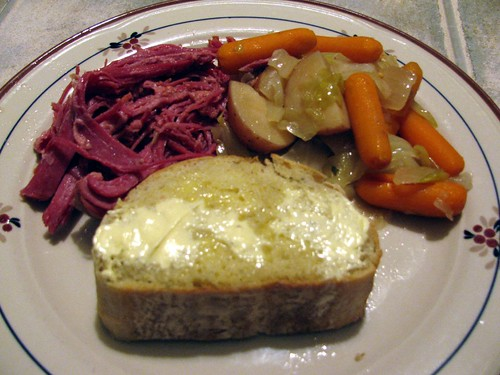 Slow Cooker Corned Beef & Cabbage 5