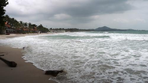 Koh Samui chaweng beach south end コサムイ チャウエンビーチ南端0