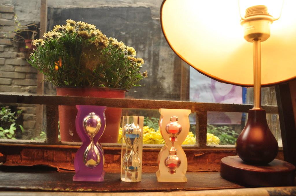 Sandglass cafe in Beijing