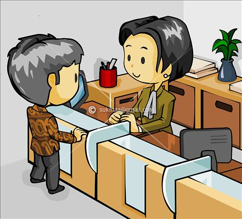 clipart bank teller - photo #3