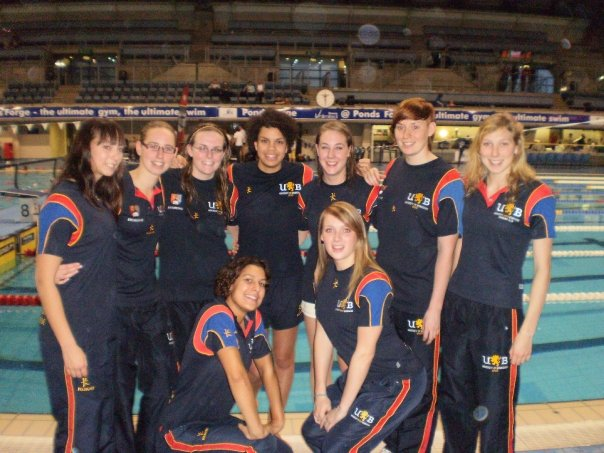 Swim success in sheffield redbrick university of - University of birmingham swimming pool ...