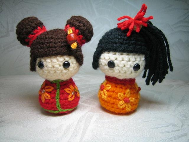 Amigurumi Japanese Doll : Japanese doll Kokeshi Amigurumi Flickr - Photo Sharing!