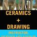 CERAMICS + DRAWING: PLANTS & FOOD FA-2009