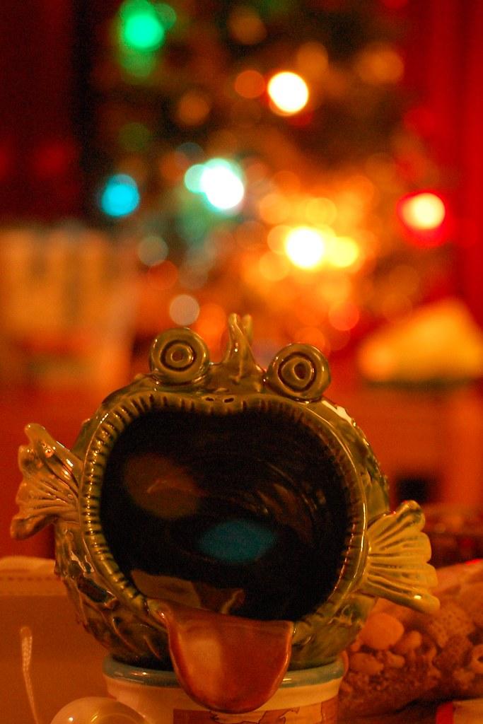 christmas bulb monster 1/7
