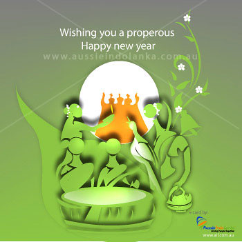 Years Wishes Cards on Tamil   Sinhala New Year Flash Ecard Design 24 Done For Www