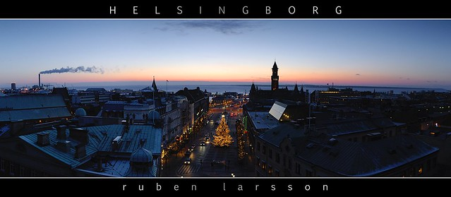 And The Sun Sets Over Helsingborg
