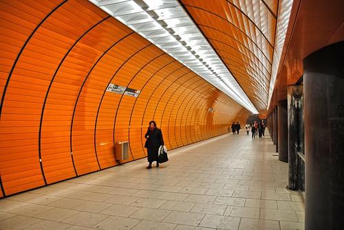 Marienplatz Station - Munich Underground - Troels Dejgaard Hansen