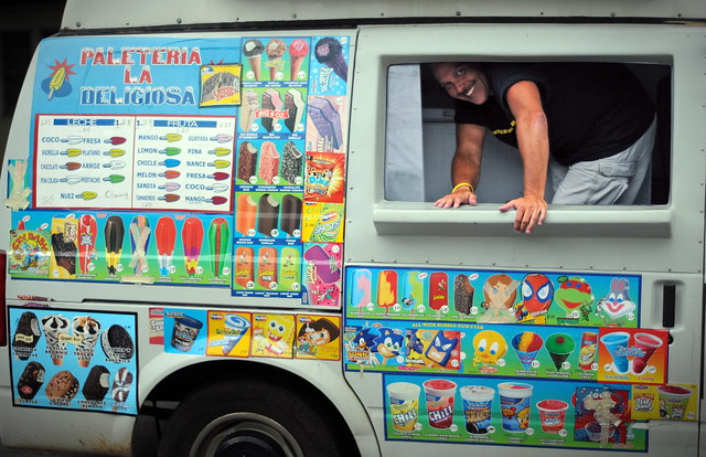 ice cream man Ice cream man this song is by tom waits and appears on the album closing time (1973), on the compilation album the early years, vol 1 (1991), on the compilation album dime store novels, vol 1 (2001.
