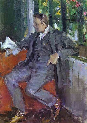 Korovin, Constantin (1861-1939) - 1905 Portrait of Fedor Chaliapin (Tretyakov Gallery)
