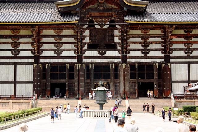 Daibutsu-den hall, Todai-ji, Nara