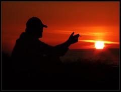 sunset feeling
