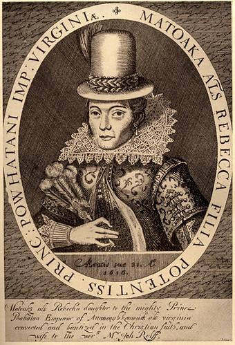 Pocahontas, age 21, 1616