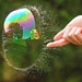Green Bubble Popping (One-Sided Reflection!) by richard.heeks