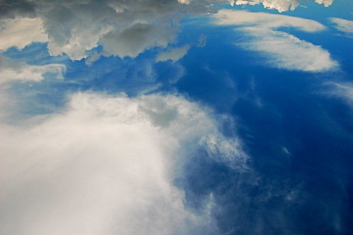 blue sky cloud weather clouds photo image upsidedown picture cc btp jdhancock