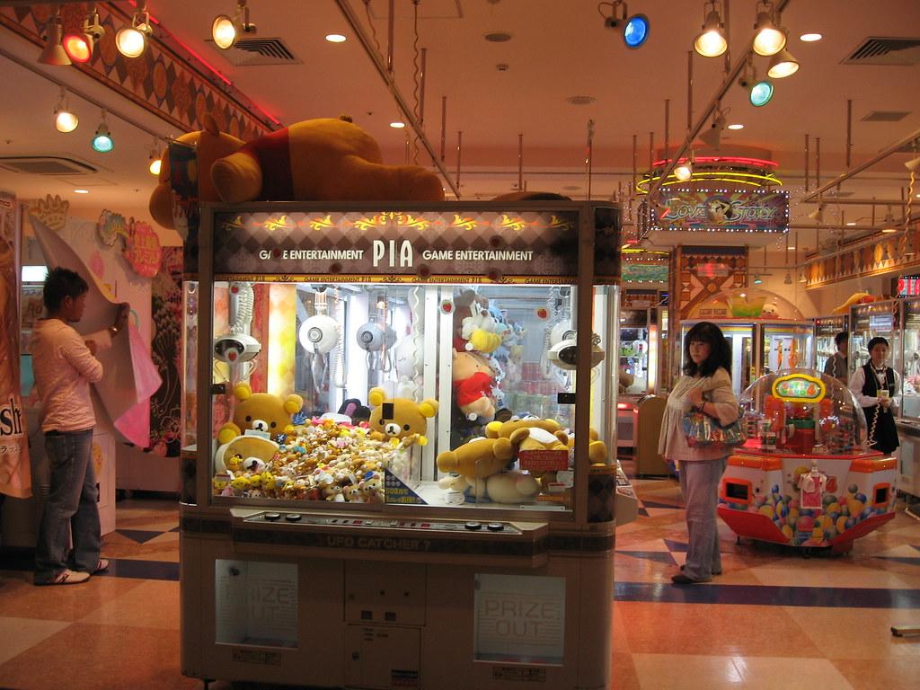 Game arcade at Venus Fort, Tokyo | musebreakz | Flickr