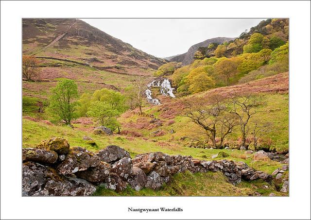 Nantgwynant waterfalls (Nant Gwynant)