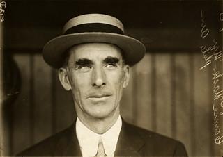 Connie Mack, Philadelphia Athletics manager, by Paul Thompson, 1911