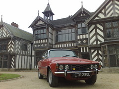 Rover 3500S at Wythenshawe Hall