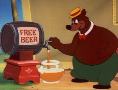 Free Beer Bear