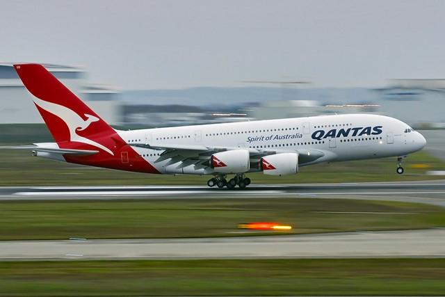 Qantas Airbus A380-800