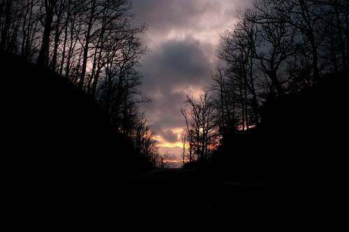 sunset da M. Croccia